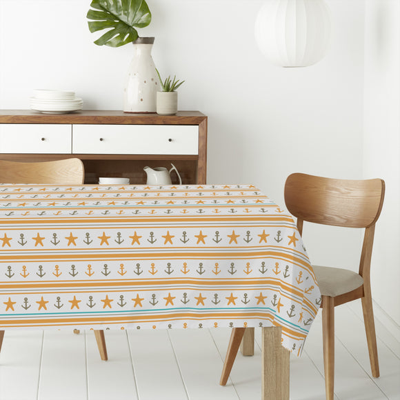 Happy Sailor Rectangle Tablecloths