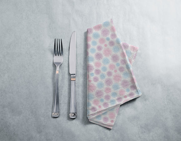 Abstract Snowflakes Napkins