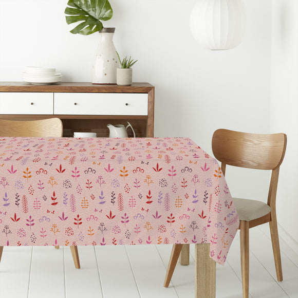 Abstract Leaves Rectangle Tablecloths
