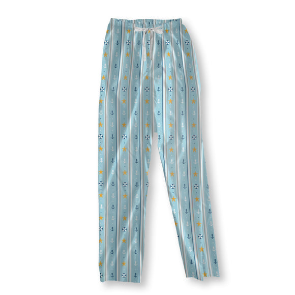 Nautical wallpaper Pajama Pants