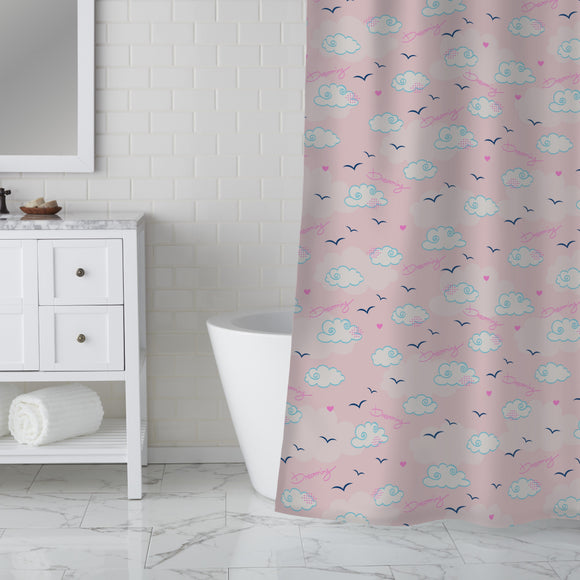 Dreaming About Clouds Shower Curtain