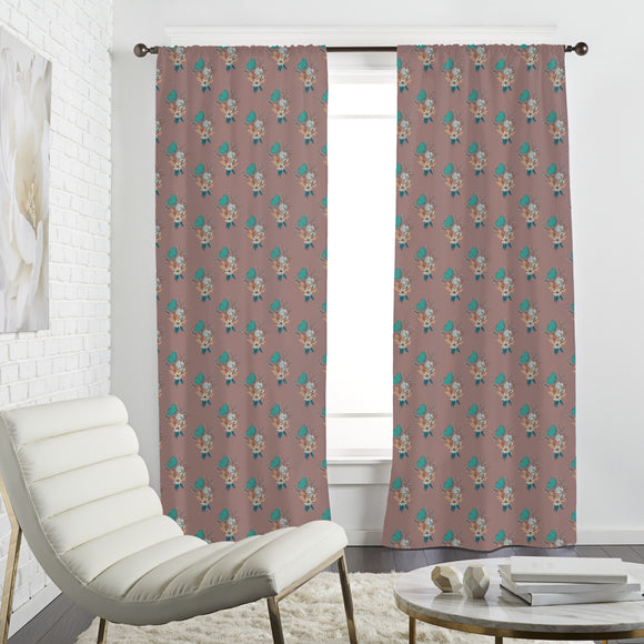 Merry Bouquet Curtains