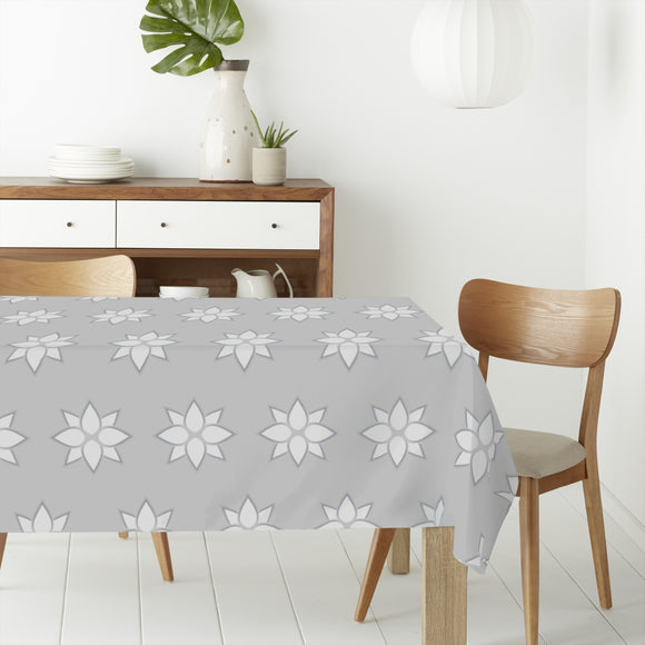 Abstract Flowers with Effect Rectangle Tablecloths