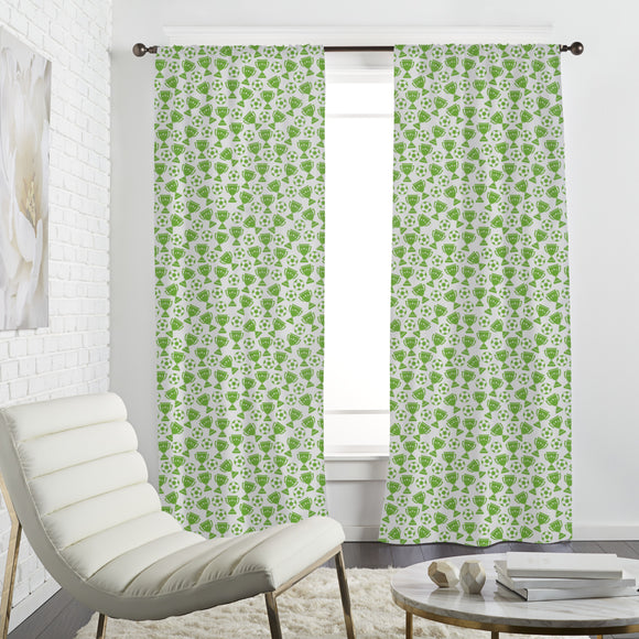 Football and Cups  Curtains