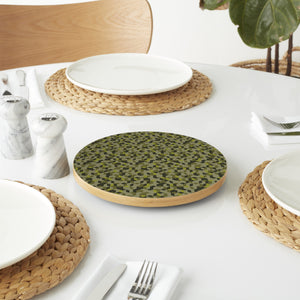 Cubic Camouflage Lazy Susan