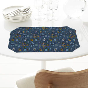 Doodle Flowers And Dots Placemats