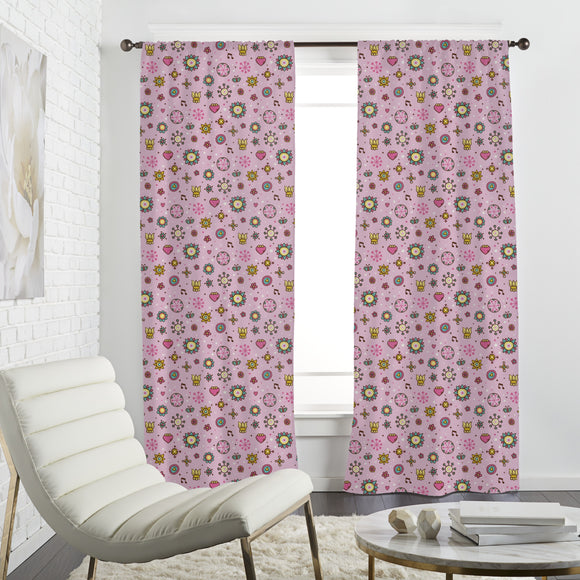 Girls Garden Dream Curtains