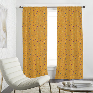 Sunshine And Flowers Curtains