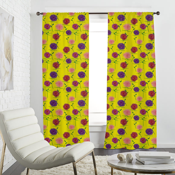 Floral Summer Curtains