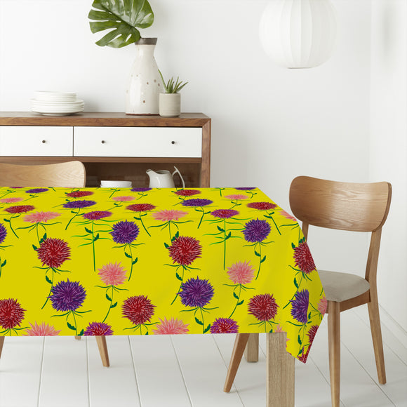 Floral Summer Rectangle Tablecloths