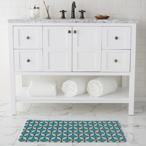To Find Hold Bathroom Rug