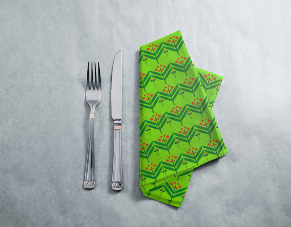 Straight Flowers Napkins