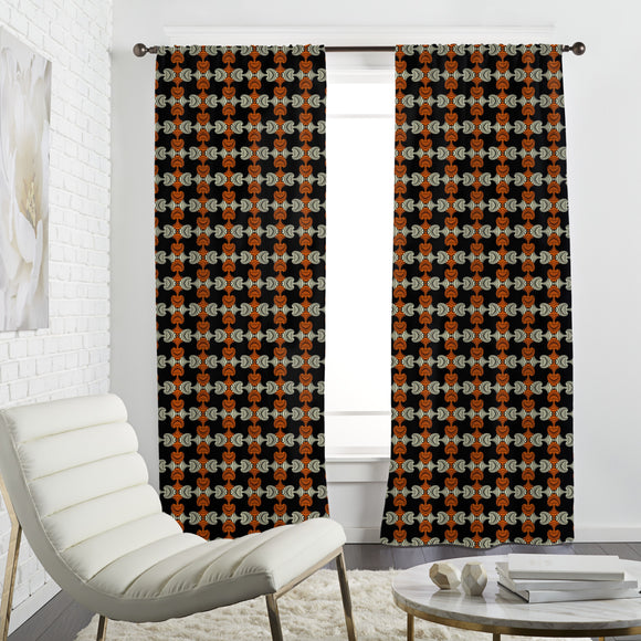 Fashionable Maori  Curtains