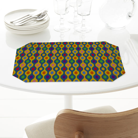 Cheerful Bright Stripes Placemats