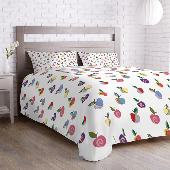 Embellished Apples Duvet