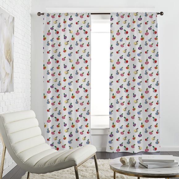 Embellished Apples Curtains