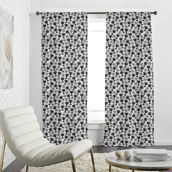 Men World Curtains