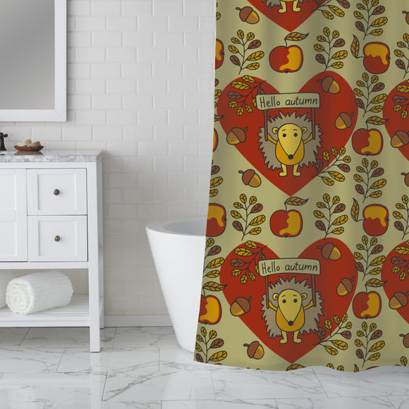 Sweet And Prickly Shower Curtain