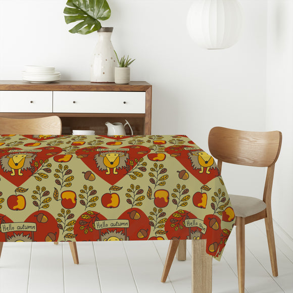 Sweet And Prickly Rectangle Tablecloths
