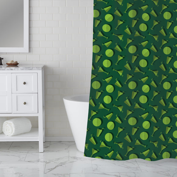 Summer Drinks  Shower Curtain
