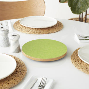 Circle Leaves Lazy Susan