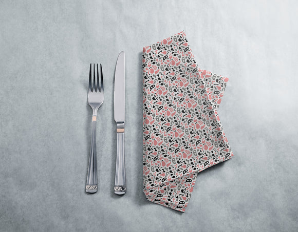 Abstract Organic Shapes Napkins