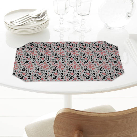 Abstract Organic Shapes Placemats