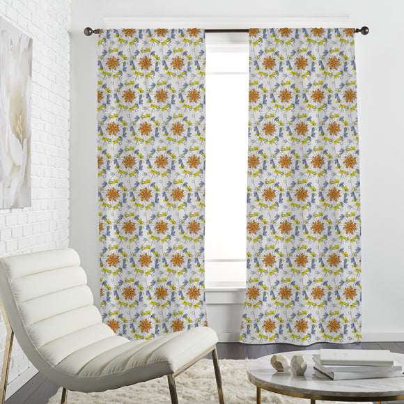 Flower Dance Curtains