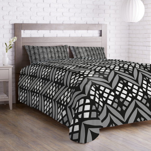 Latticed Bordures Duvet