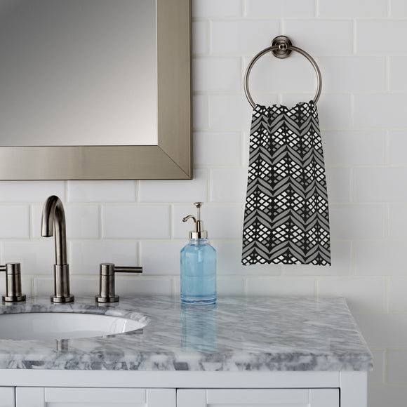 Latticed Bordures Hand Towel