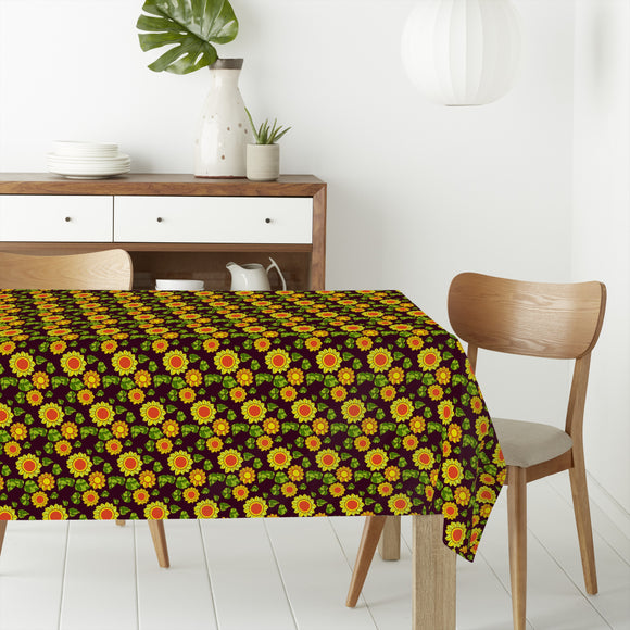 Seventies Sunflowers Flat Sheets