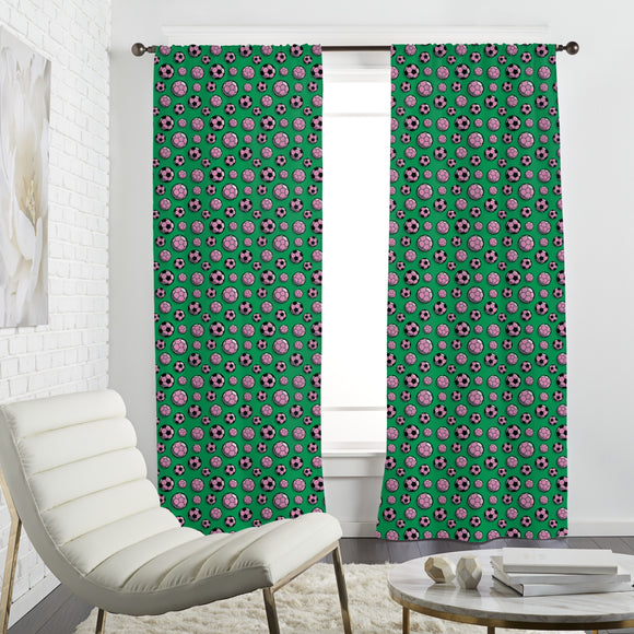 Womens Soccer Curtains