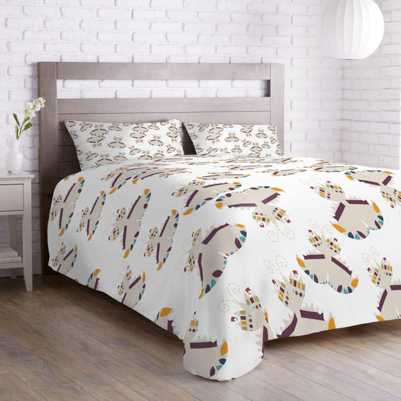 Graphical Butterflies Duvet
