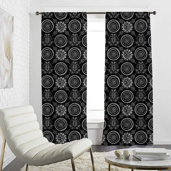 Ethnic Abstract Curtains