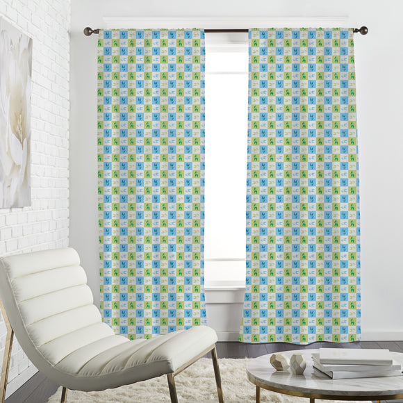 Tulip Memory Curtains