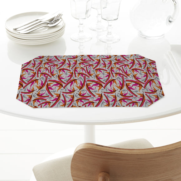 Abstract Falling Leaves Placemats