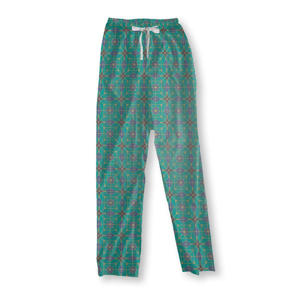 Geometric Constellations Pajama Pants