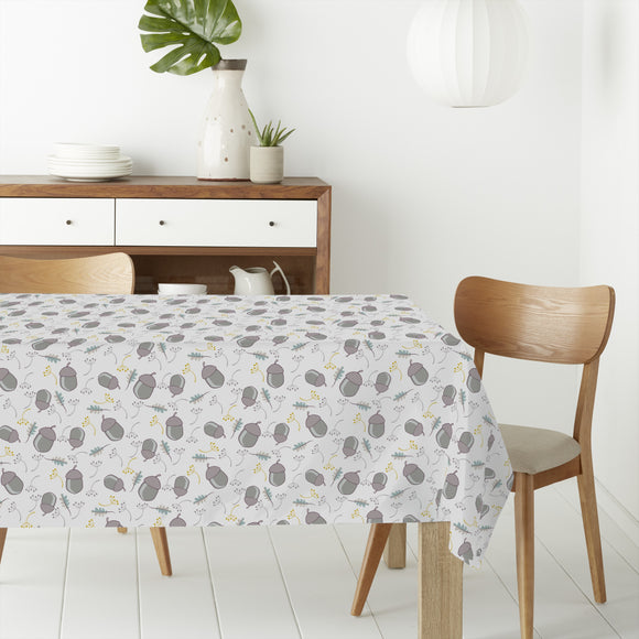 Acorn and Branches Rectangle Tablecloths