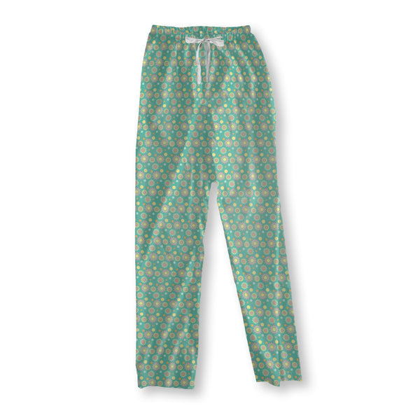 Graphical Suns Pajama Pants