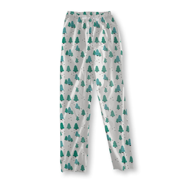 Cute Winter Trees Pajama Pants