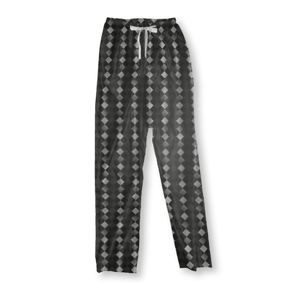 Rhombuses Inside Stripes Pajama Pants