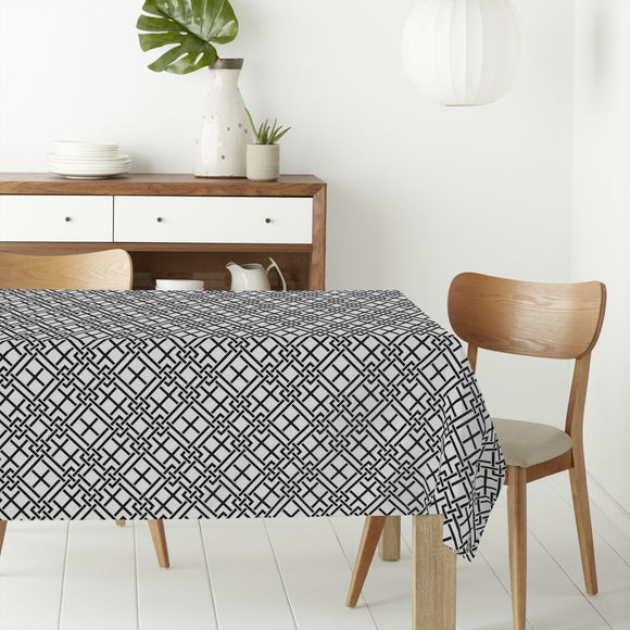 Abstract Labyrinth Rectangle Tablecloths