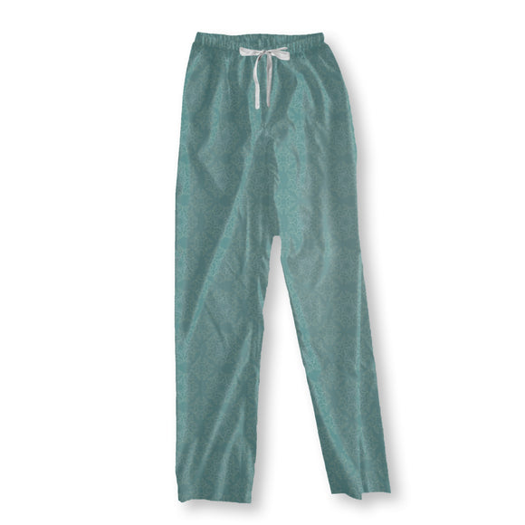 Delicate Ice Crystals Pajama Pants