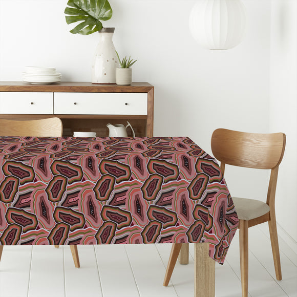 Agate Rectangle Tablecloths
