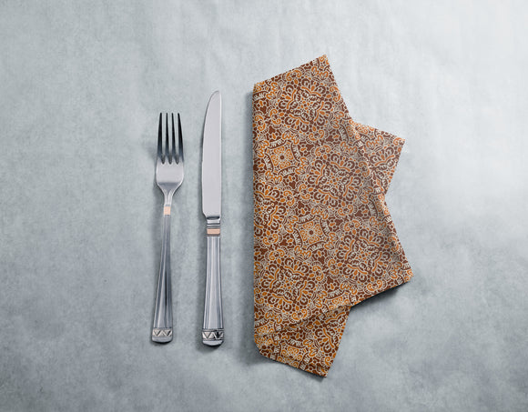 Amply Embellished Tile Napkins