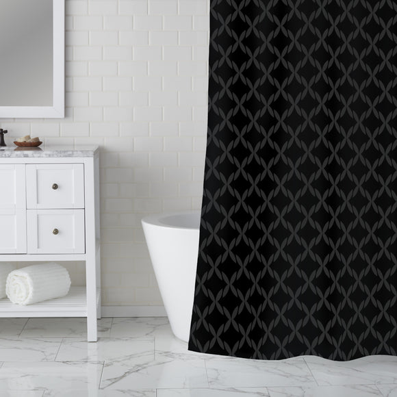Broderie Anglaise Shower Curtain