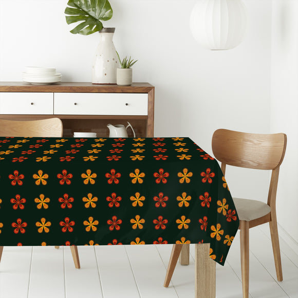 Fantasy Blossoms Rectangle Tablecloths