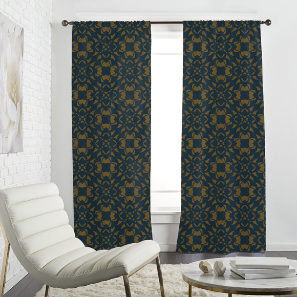 Gothic Petals Curtains