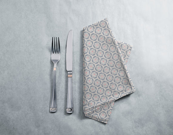 Symmetrical floral Ornaments Napkins