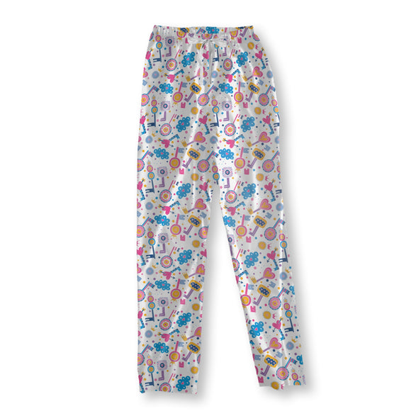 Love Keys Pajama Pants